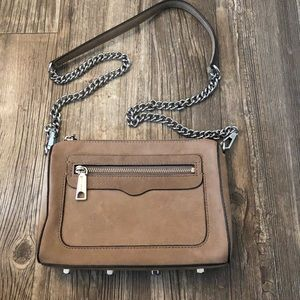 rebecca minkoff avery suede shoulder bag